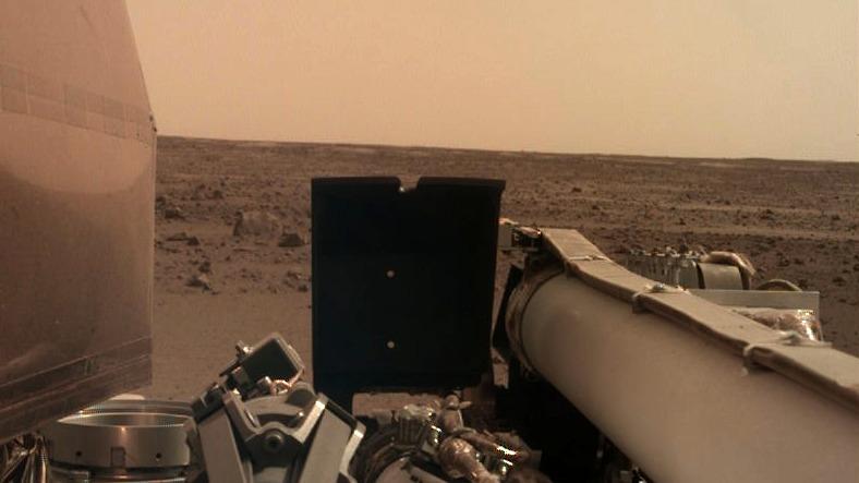 Terremoto se produce en Marte y se transforma en el primero que se ha podido registrar en la historia