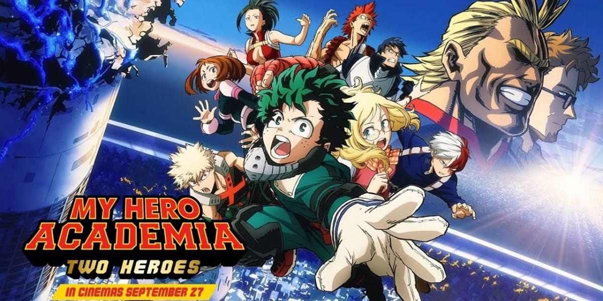 My Hero Academia: Two Heroes será estrenada en salas de cine en Colombia