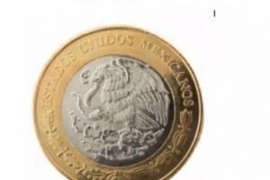 Nueva moneda de 20 pesos