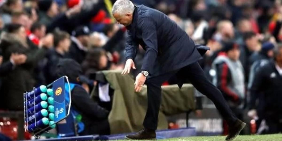 VIDEO: Mourinho enloquece en el festejo por victoria de Manchester United
