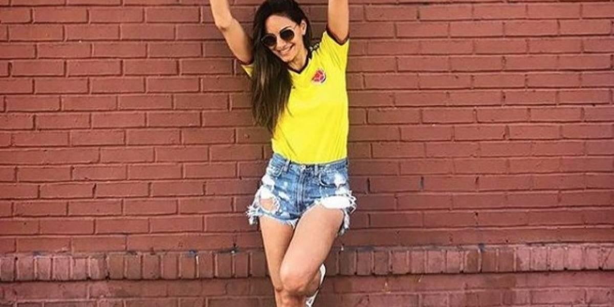 Ella es Valerie Domínguez, la prima de Shakira que causó furor por fotos sin ropa