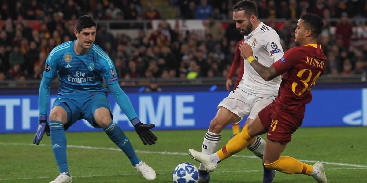 Real Madrid sufrió, pero obtuvo la victoria ante La Roma y su pase a octavos