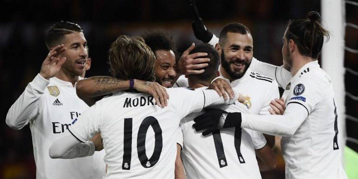 VIDEO. El Madrid se clasifica a octavos de final con un triunfo sobre la Roma