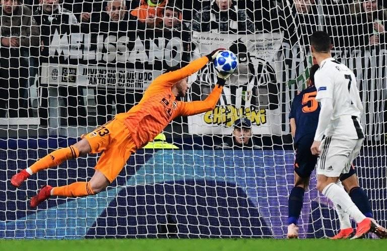 La Juventus derrotó por la mínima al Valencia