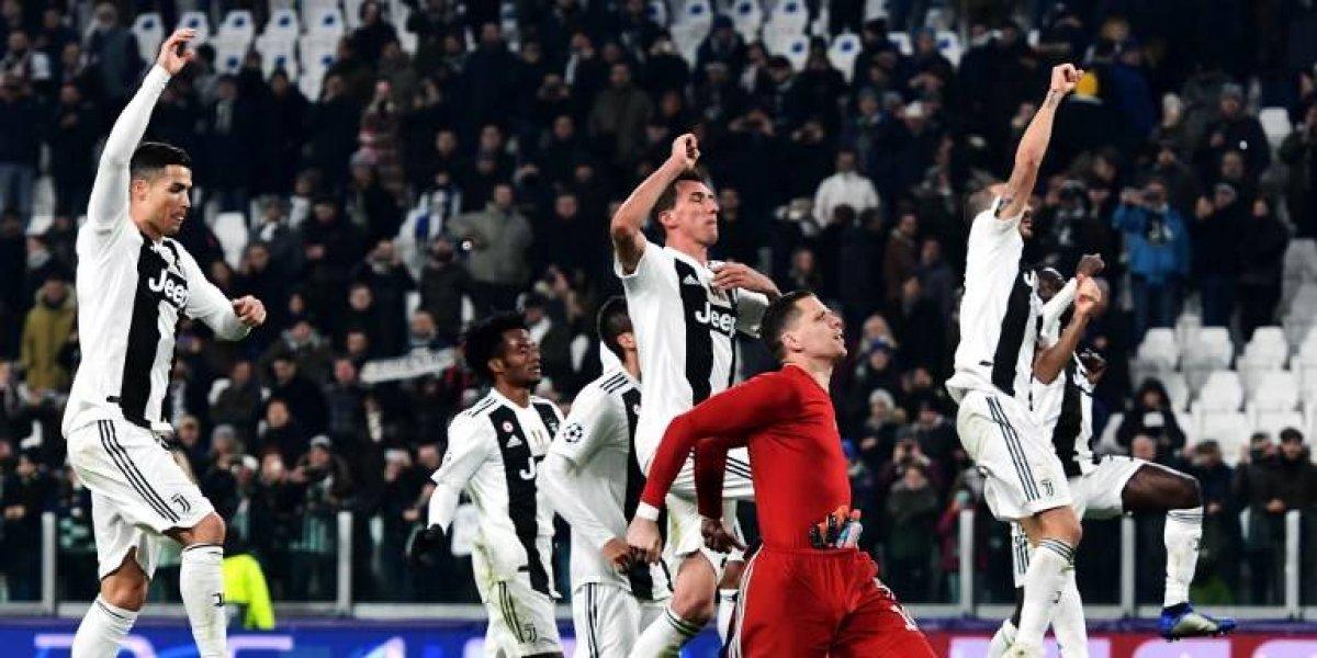 Con un gol de Mandžukić, la Juventus avanza a los octavos de la Champions