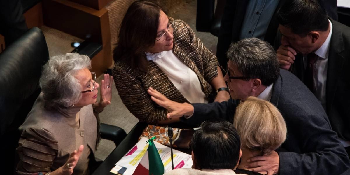 Olga Sánchez y Rocío Nahle solicitan licencia indefinida al Senado