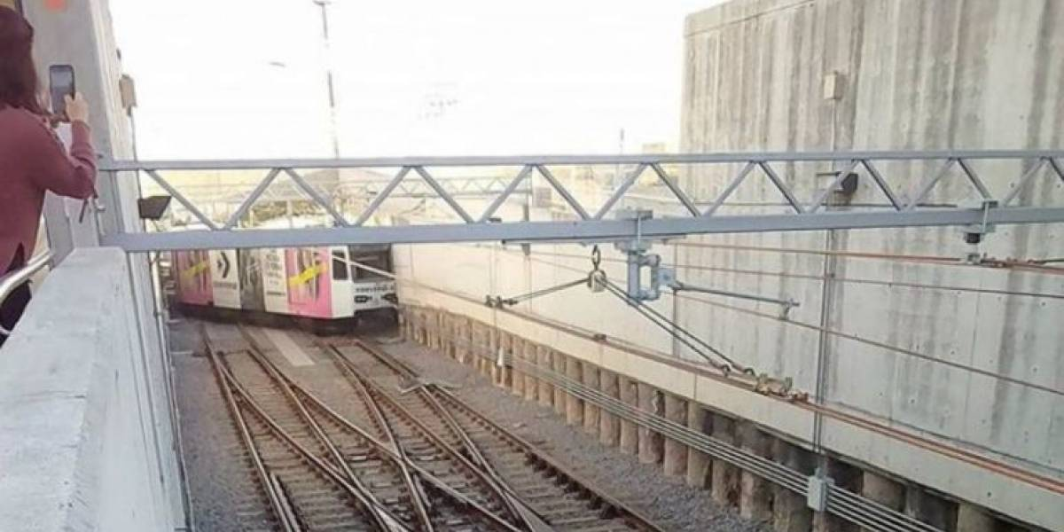 Se descarrila tren de la Línea 1 por falla mecánica