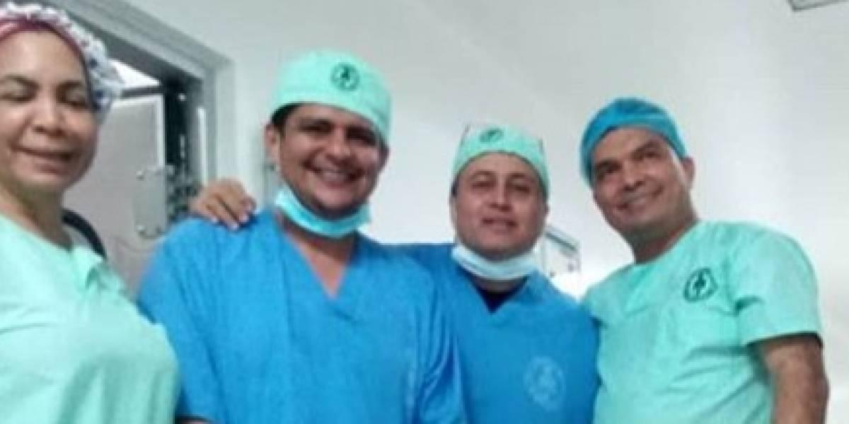 Extirpan tumor que pesó 28 kilos del vientre de una mujer en La Guajira