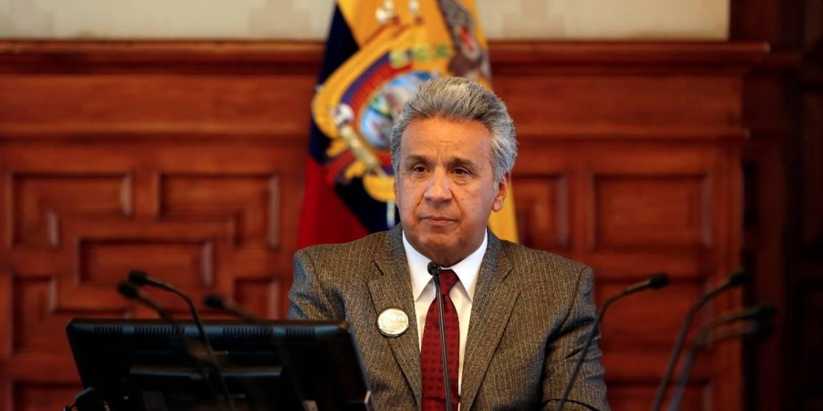 El presidente Lenín Moreno designa una nueva cúpula militar