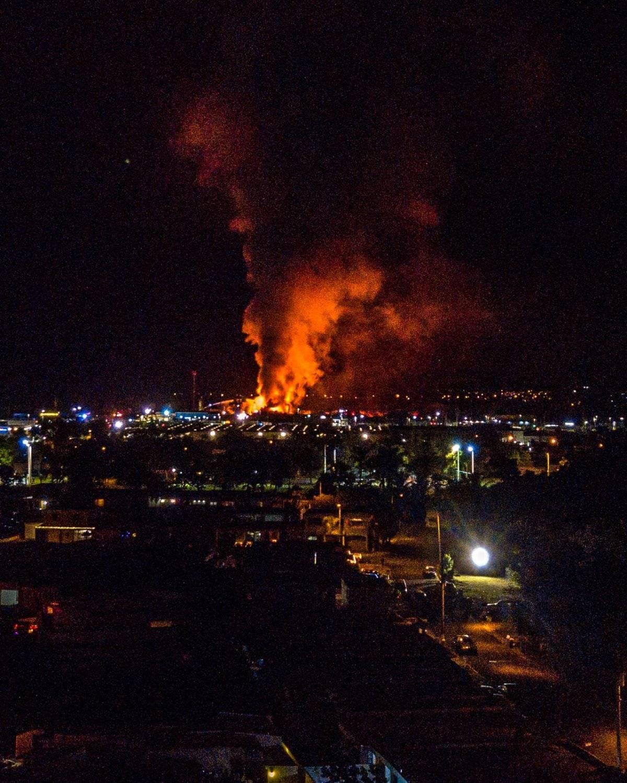 fuego en Carolina