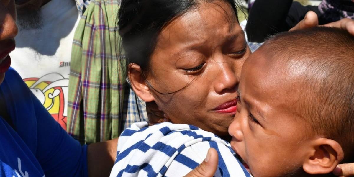 O reencontro emocionado de crianças e famílias separadas por um tsunami