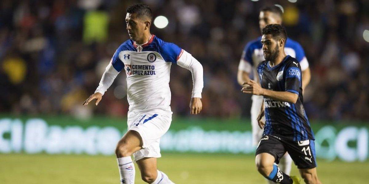 Cruz Azul vence 2-0 a Querétaro en el juego de ida