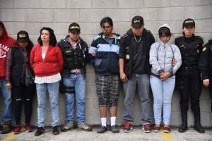 Extorsiones en Mixco