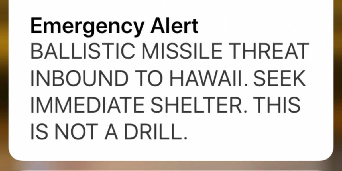 Sufrió un infarto tras una alerta falsa de misil en Hawai y ahora demandó al Gobierno