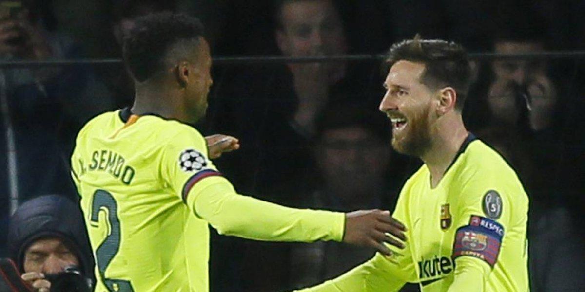 Al Chucky se le aparecio el verdadero demonio; Messi mato al PSV
