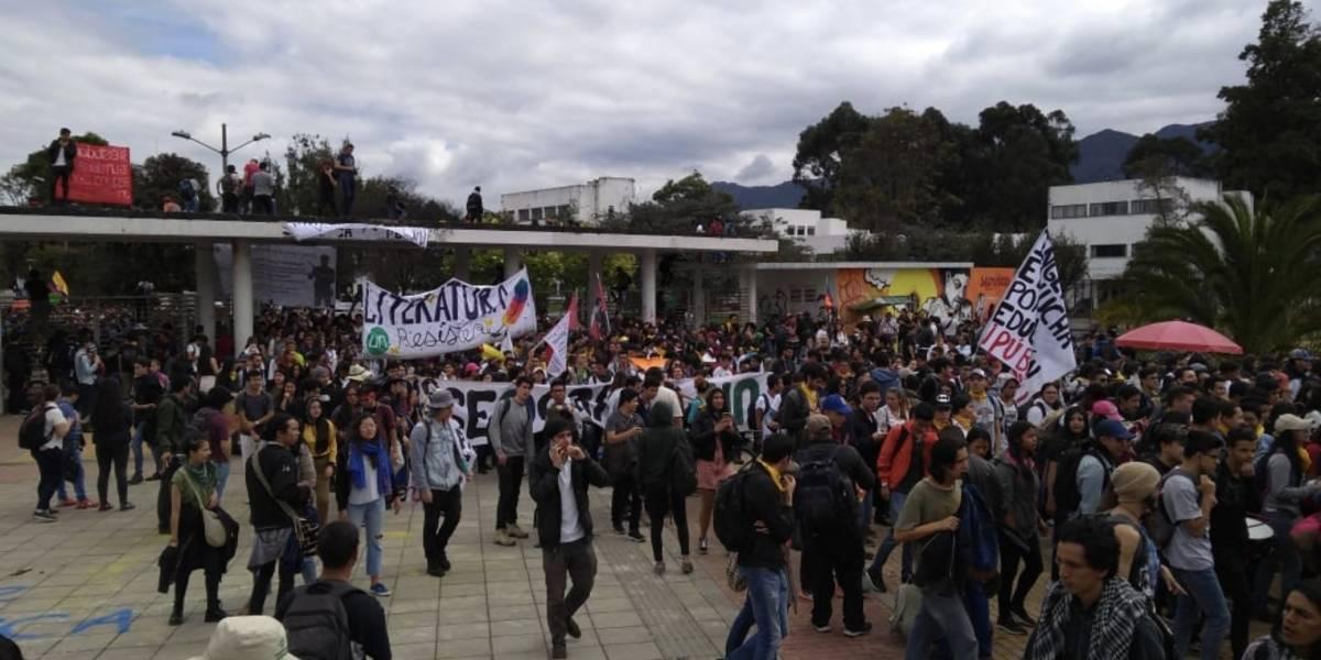 Varias estaciones de TransMilenio están cerradas por el inicio de las marchas