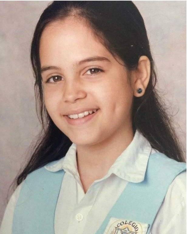 La foto de Natti Natasha de la infancia
