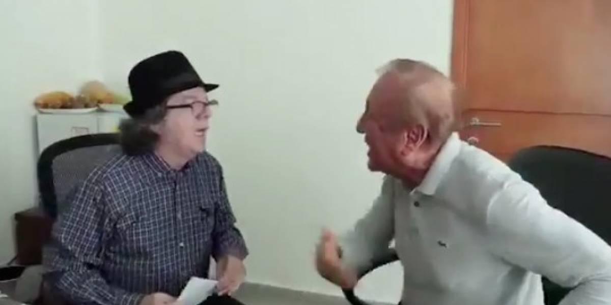 La tremenda cachetada que el alcalde de Bucaramanga le metió a un concejal