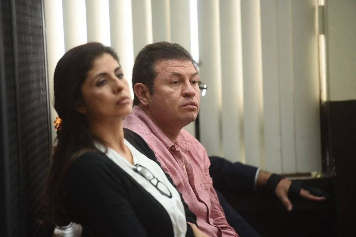 Sergio y su hermana Clara López Villatoro.