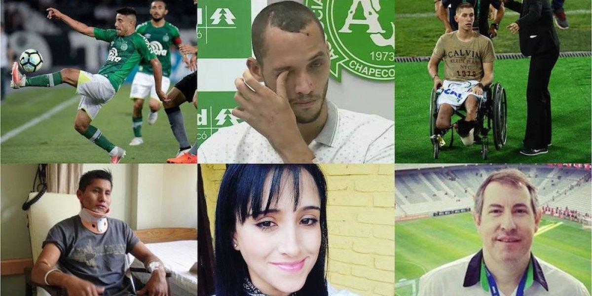 Sobrevivientes de la tragedia del Chapecoense, a dos años del accidente