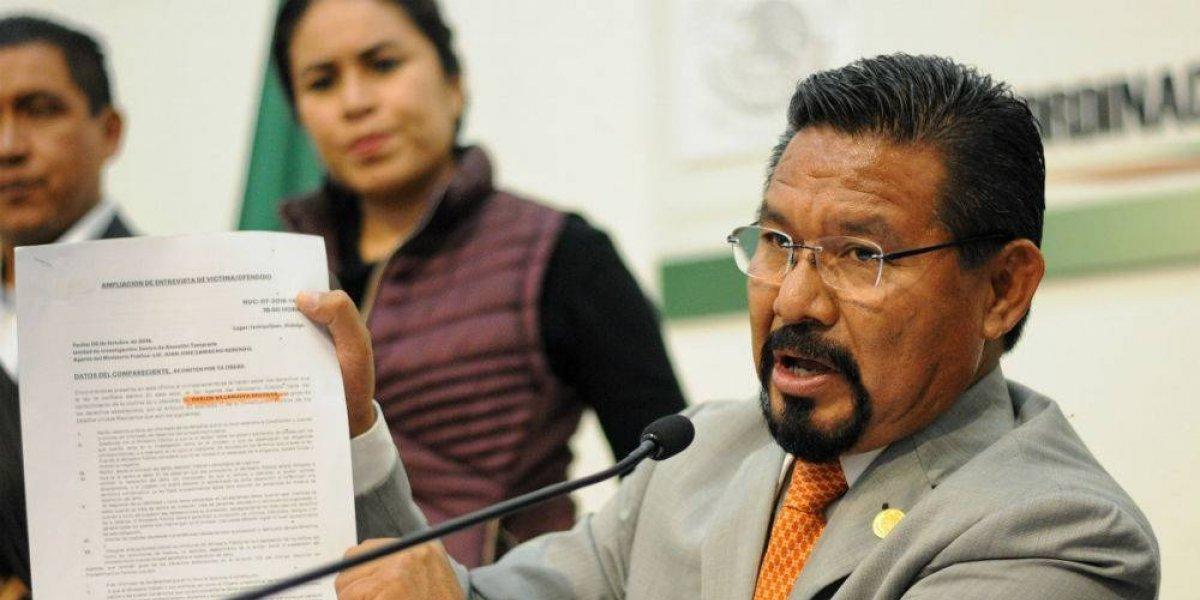 Aprueban licencia a Cipriano Charrez, diputado acusado de homicidio culposo
