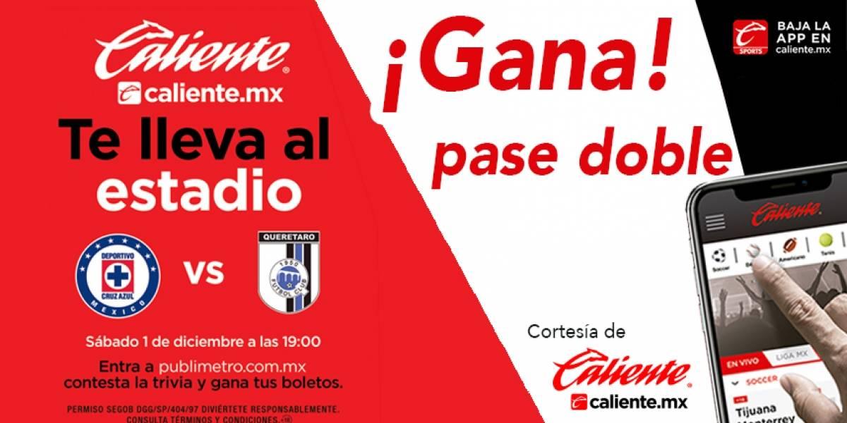 Gana pase doble para el partido Cruz Azul vs Querétaro