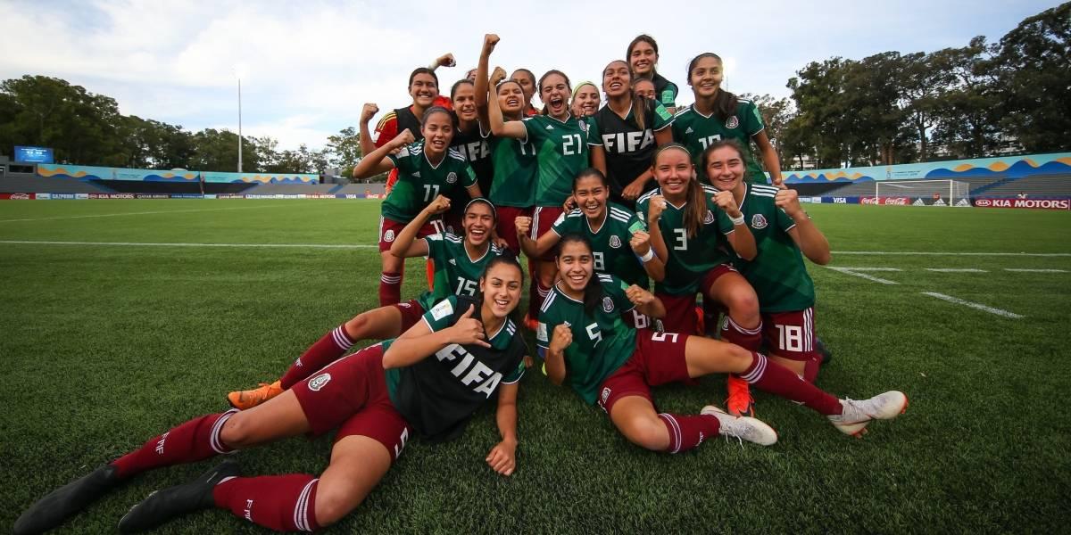México vs Canadá, ¿dónde y a qué hora ver el partido de la Sub 17 femenil?