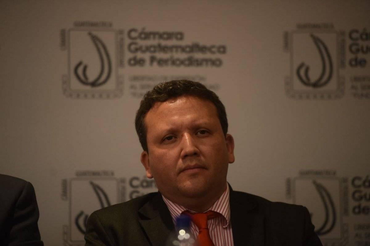 Erick Castillo, exsecretario de la CC