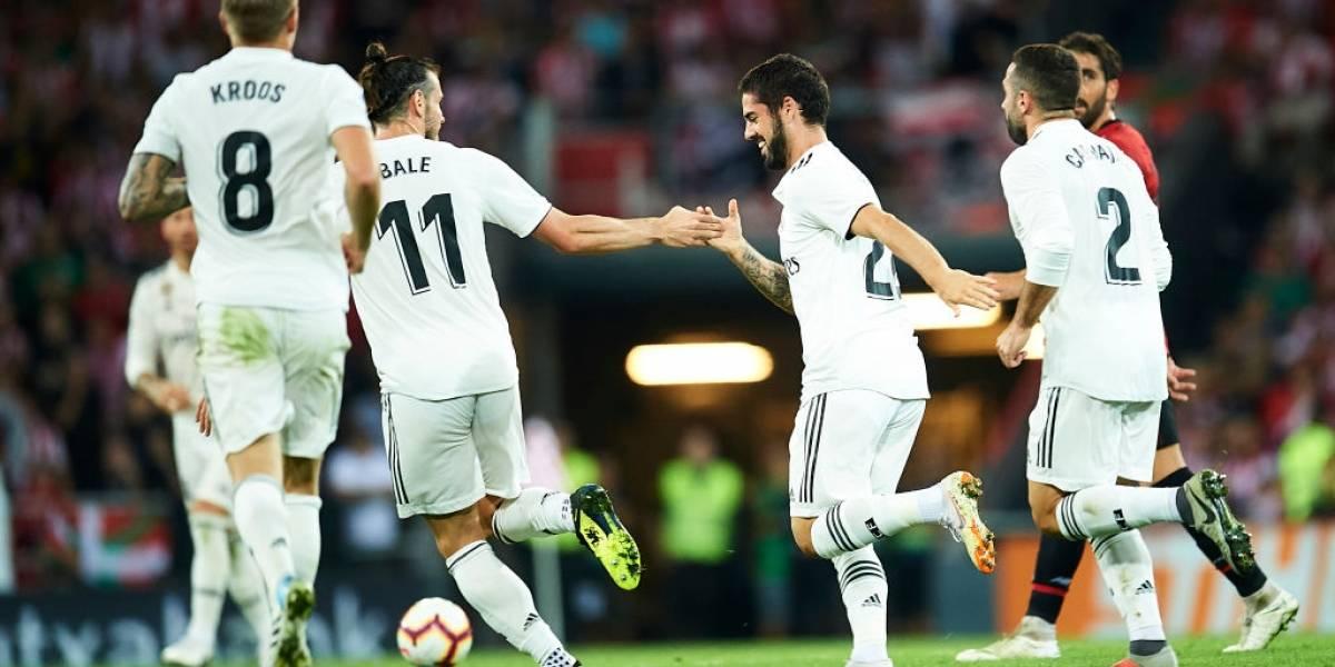"""El Indiecito Solari corta a un """"peso pesado"""" y remece el camarín del Real Madrid"""