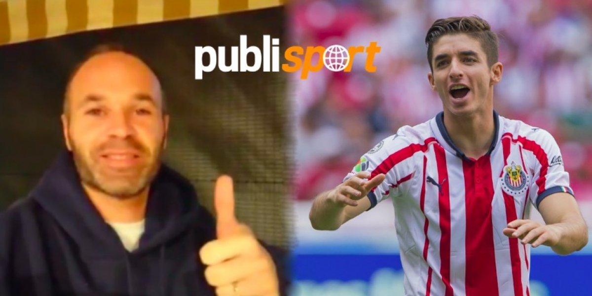 VIDEO: Andrés Iniesta manda mensaje de apoyo para Isaac Brizuela