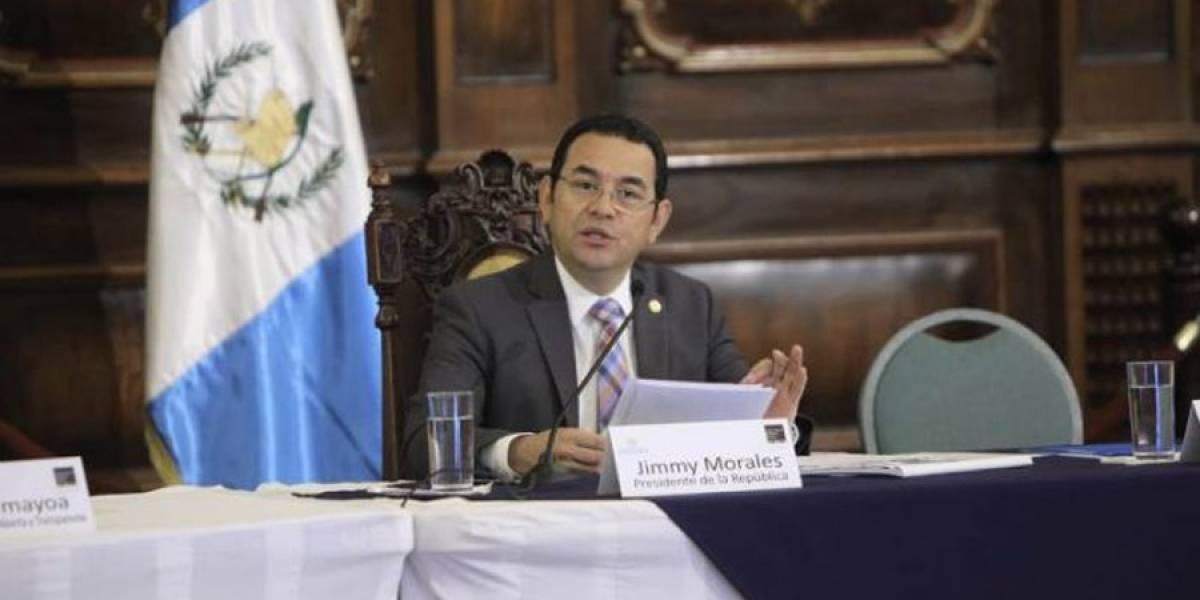 Jimmy Morales viaja a Belice por presidencia pro tempore del SICA
