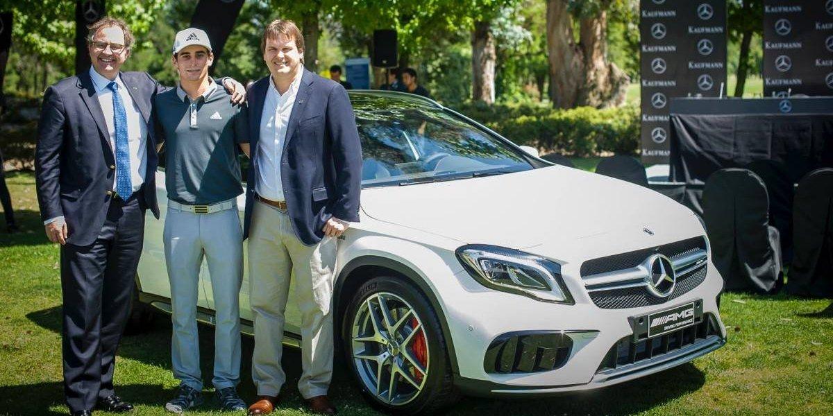 Joaquín Niemann se suma a la familia Mercedes-Benz