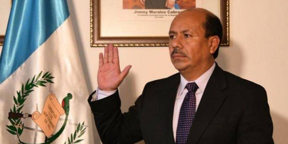 Nombran a nuevo viceministro, en sustitución del prófugo Kamilo Rivera