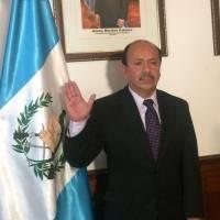 Luis Arévalo es juramentado como viceministro de Seguridad
