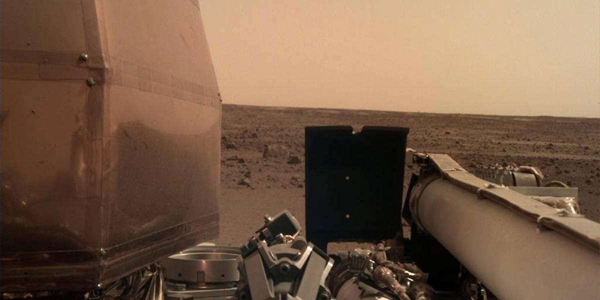 ¡Insight llegó a Marte! Esto es lo que vio...