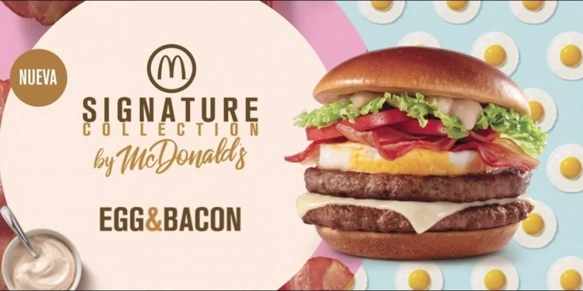 McDonald's presenta la línea Signature Collection con la nueva Egg & Bacon