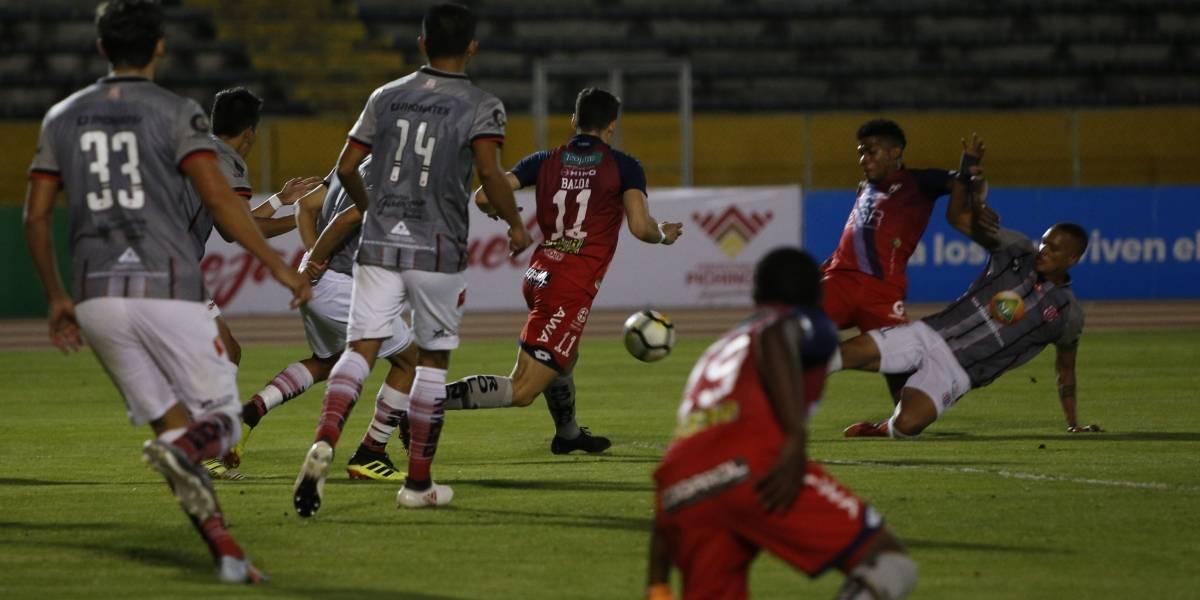El Nacional vs Técnico Universitario: El 'Rodillo Rojo' gana a el 'Nacho' en el Atahualpa