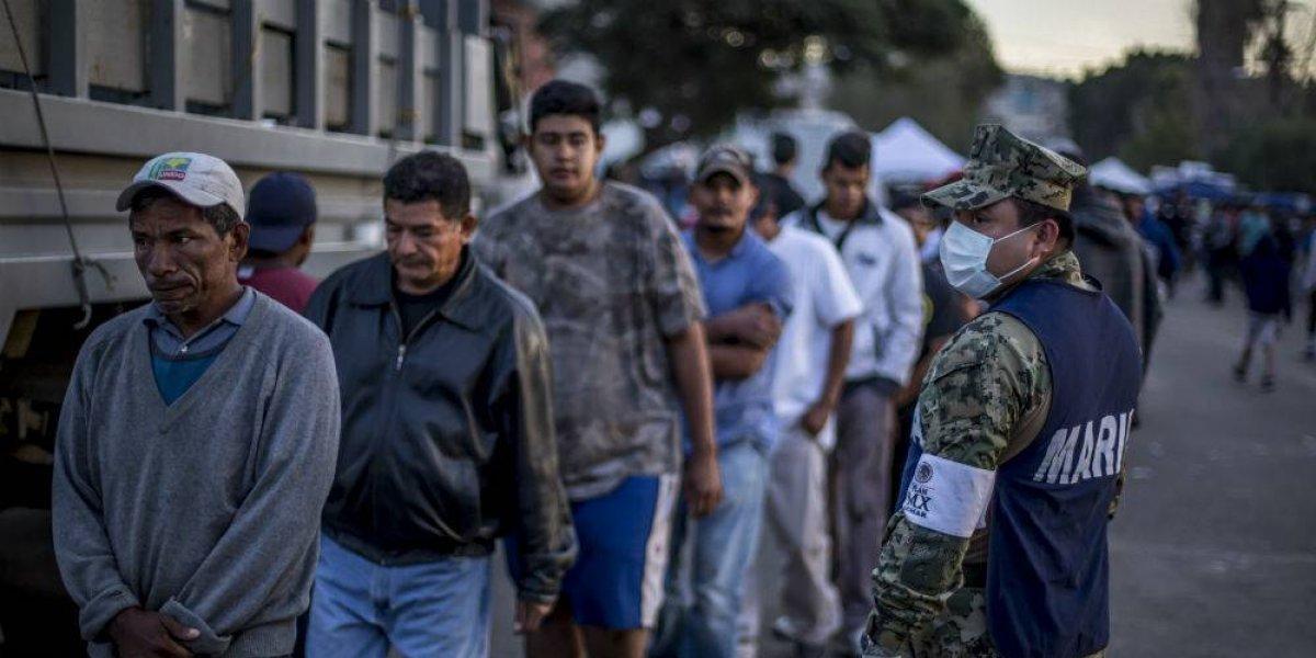 Casi 700 migrantes han solicitado empleo en México