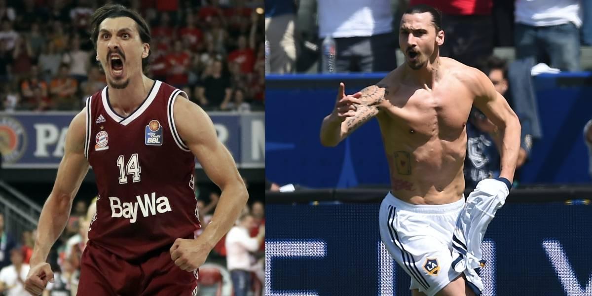El basquetbolista que es 'el gemelo' de Zlatan Ibrahimovic