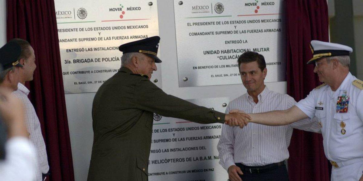Peña Nieto inaugura la última obra de su sexenio, el Centro Médico Naval