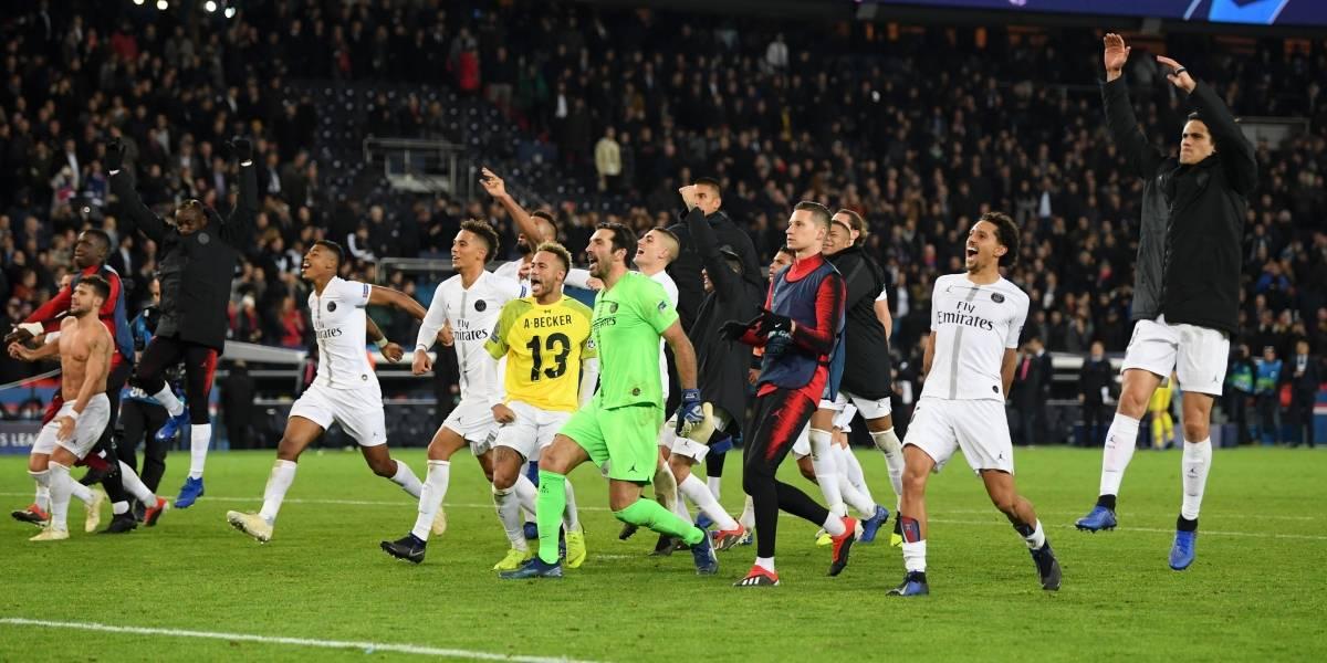 PSG consigue el triunfo y avanza a octavos de la Champions
