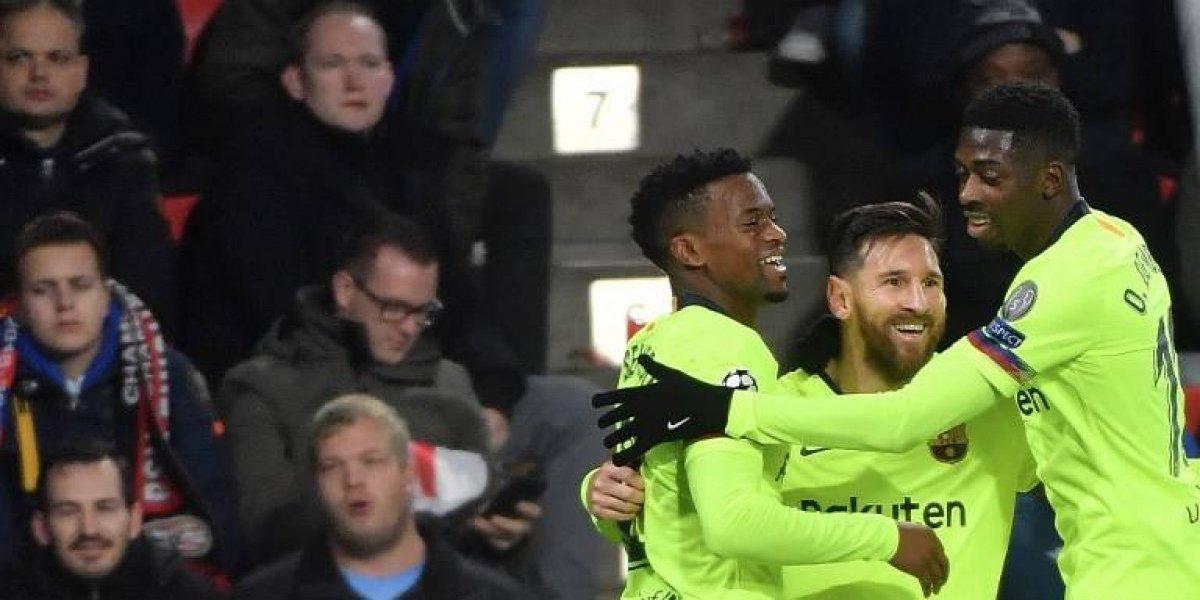 El Barcelona quiere cerrar como líder ante el PSV