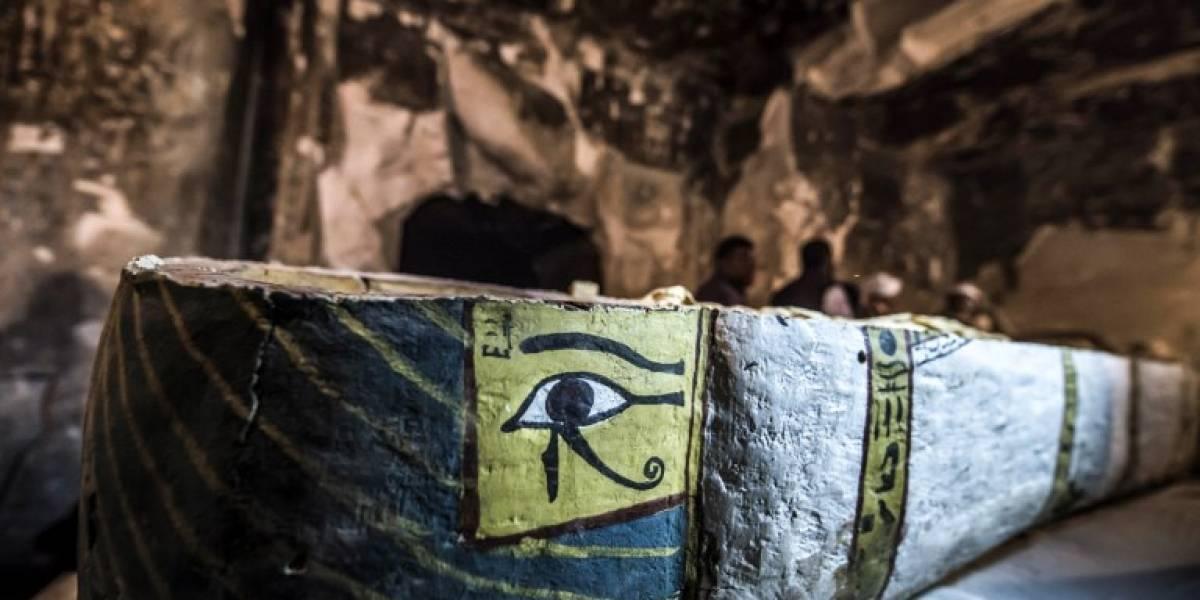 FOTOS.Hallazgo de antiguas momias aporta nuevas evidencias sobre el antiguo Egipto