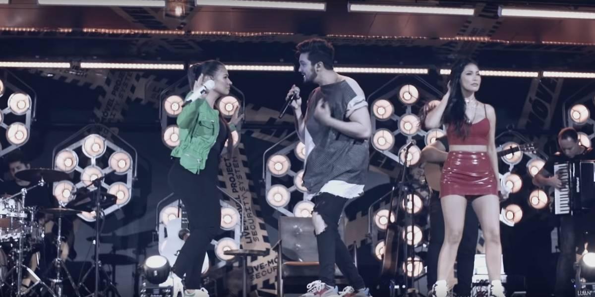 Luan Santana e Simone & Simaria lançam clipe juntos; assista 'Machista'