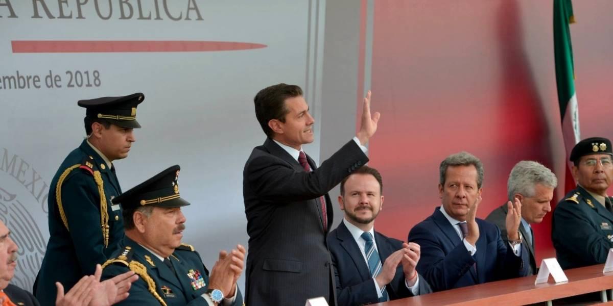Peña Nieto pide al Estado Mayor Presidencial contribuir en nueva etapa del país