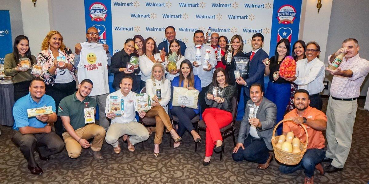 Walmart logra acuerdos comerciales con 91 suplidores locales