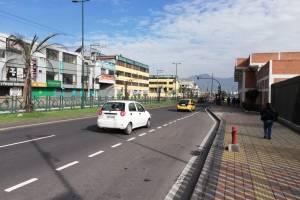 Hasta el momento no hay ningún reporte de la AMT sobre vías o trafico pesado en Quito.
