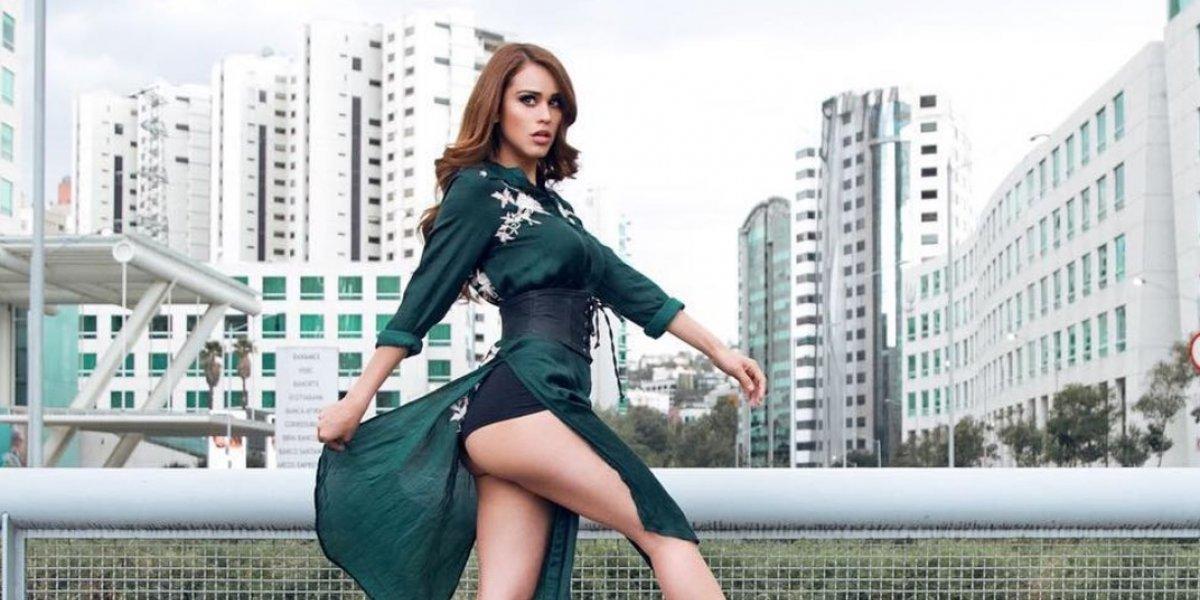 Yanet García se disfraza como la Popis y causa furor con mini vestido