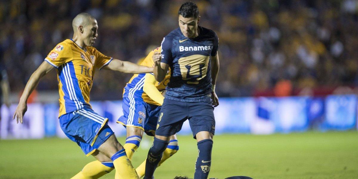 Pumas sufrió goleada la última vez que se midió a Tigres en cuartos