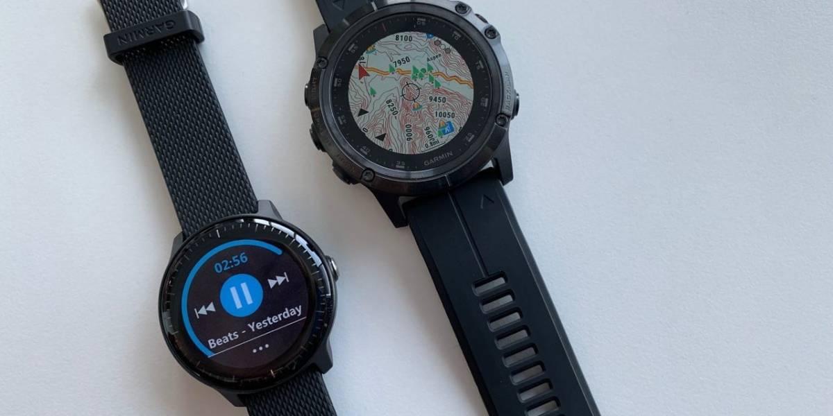 Correr sin el celular: los relojes inteligentes de Garmin ahora soportan Spotify
